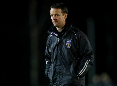 UCD manager Colin O'Neill.