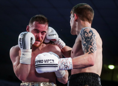 Donovan and McAfee headlined the card which was broadcast on TG4.