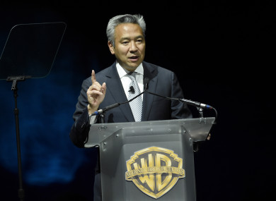 Warner Bros chief Kevin Tsujihara