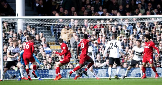 As it happened: Fulham vs Liverpool, Premier League