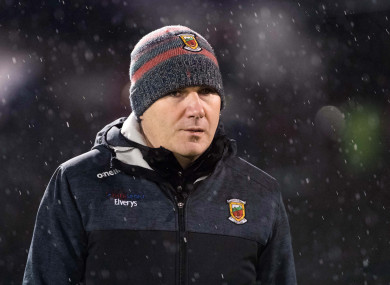 Mayo boss James Horan.