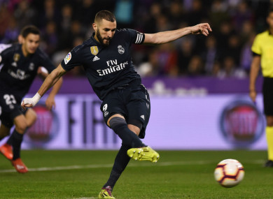 b27df67ff02 Benzema scores brace as Madrid bounce back from shock Champions League  defeat