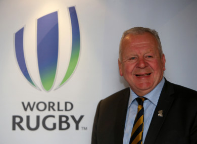 World Rugby chairman, Bill Beaumont.