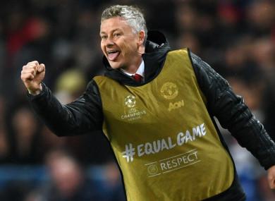 Manchester United caretaker boss Ole Gunnar Solskjaer.