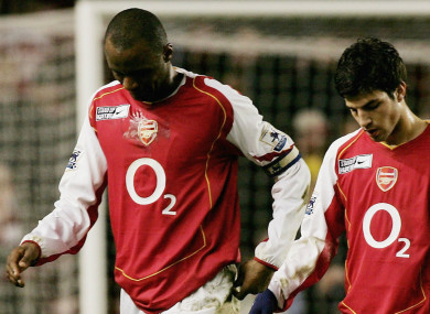 best website e406d 689ed This is the kid who made me leave Arsenal' - Vieira 'blames ...