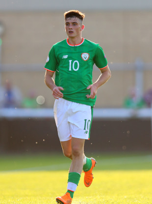 Parrott has previously starred for the Ireland U17s and U19s in recent years.