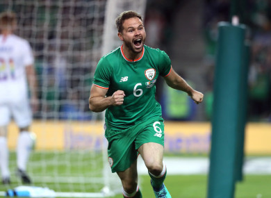 Alan Judge was on the scoresheet in last year's Ireland-USA friendly.