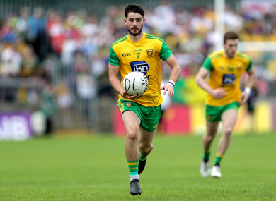 Ryan McHugh was key to reversing Donegal's fortunes today.
