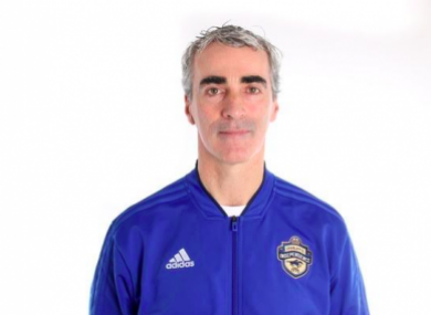Jim McGuinness was unveiled as Charlotte Independence manager back in December.