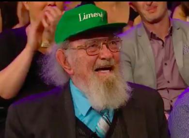 Lifelong Limerick GAA fan John Hunt.