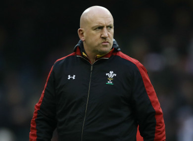 Wales defence coach Shaun Edwards.