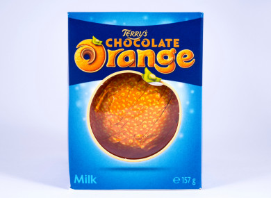 Batch Of Terrys Chocolate Orange Recalled Due To Presence