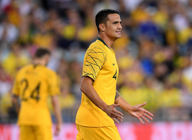 Australia's all-time leading goalscorer has called time on his career at 39.