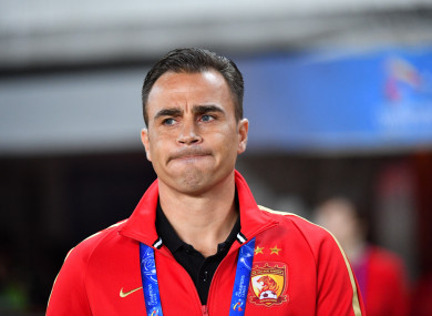 Cannavaro will remain in charge of Chinese Super League giants Guangzhou Evergrande.