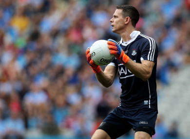 Stephen Cluxton drops out of the squad this afternoon.