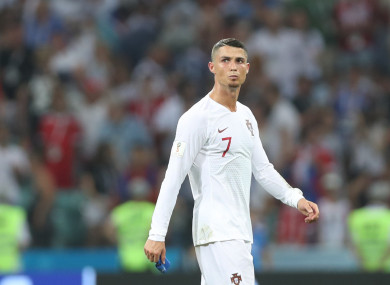 The 34-year-old's last game for Portugal was the defeat to Uruguay at the World Cup.