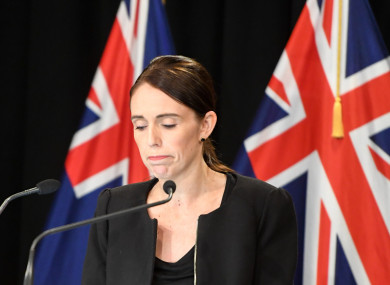The country's prime minister has said measures have been agreed by her cabinet to tighten gun control laws.
