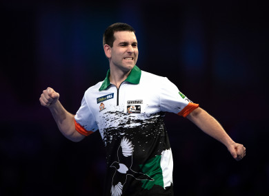 O'Connor made it to the third round of the 2019 PDC World Championship in December.