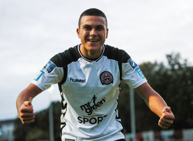 Ali Reghba is making waves at Bohemians.
