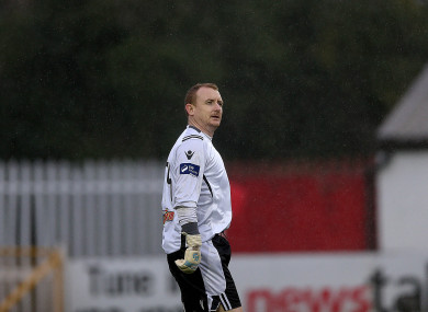 Barry Ryan was frequently a standout performer in goals during a lengthy League of Ireland career.