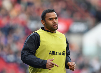 Billy Vunipola (file pic).