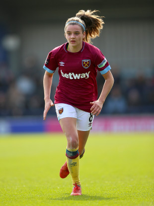 Cavan native Leanne Kiernan plays for West Ham.