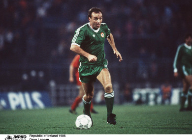 Langan won 26 Ireland caps between 1978 and 1987.