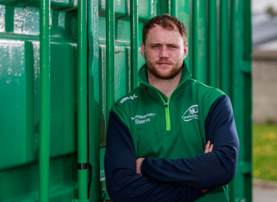 McKeon pictured at the Sportsground this week.