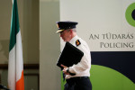 Garda Commissioner Drew Harris following a meeting with the Policing Authority at Dublin Castle.