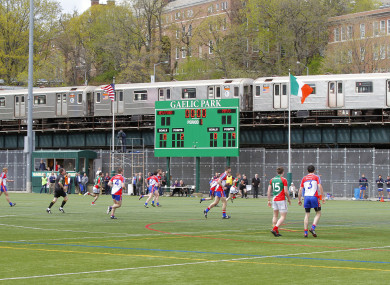 Mayo ran out comfortable winners when the sides met in 2014 in Gaelic Park.