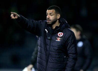 Reid has experience coaching at Reading and Crystal Palace.