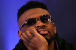 Jarrell Miller, whose shot at Anthony Joshua has been scrapped.