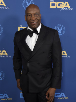 File photo of John Singleton at the 71st annual DGA Awards in Los Angeles.