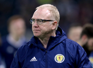 McLeish's second spell in charge has came to an end on Thursday.