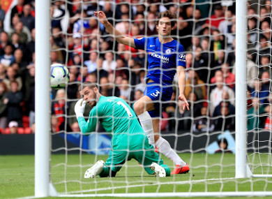 e9f64ad5804 Another De Gea howler costs United priceless points in Chelsea draw