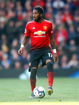 Manchester United's Fred has struggled to live up to expectations at the club.