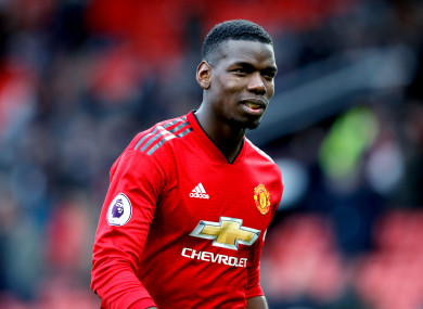 192fe81534345 Solskjaer confident that Pogba will stay at Man Utd · The42