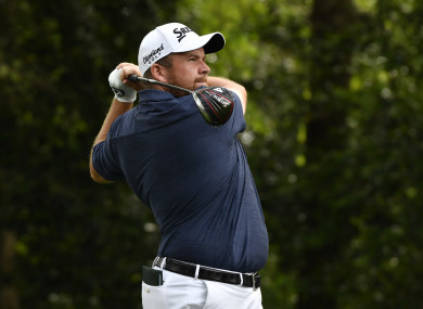 Shane Lowry had missed the cut at Augusta last weekend.
