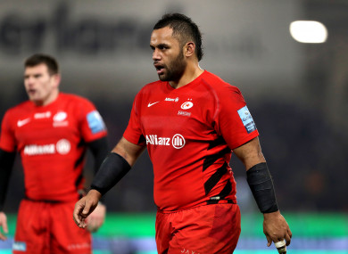 Saracens' Billy Vunipola.