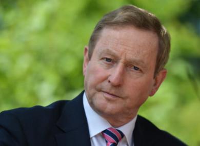 Kenny was Taoiseach between 2011-2016.
