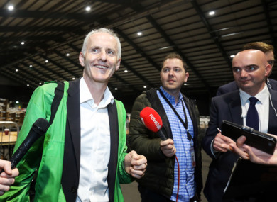 Ciarán Cuffe of the Green Party was favourite to top the poll in Dublin.