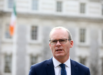 Tánaiste Simon Coveney