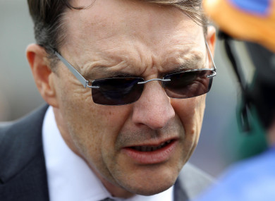 Aidan O'Brien: focused on Epsom.