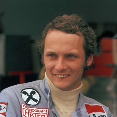 Lauda at the Argentine Grand Prix in 1975
