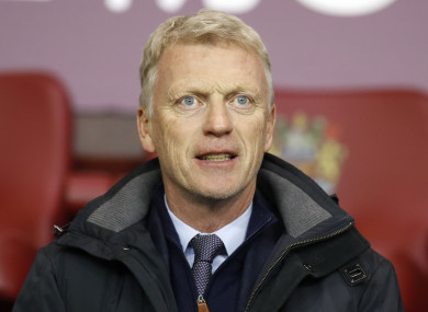 Moyes: sacked as Manchester United manager in 2014.