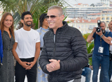 Director Abdellatif Kechiche and the cast of the movie attending the photocall of Mektoub My Love Intermezzo during the 72nd Cannes Film Festival in Cannes, France
