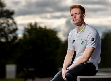 Ireland U21 international Connor Ronan pictured at Enfield yesterday.