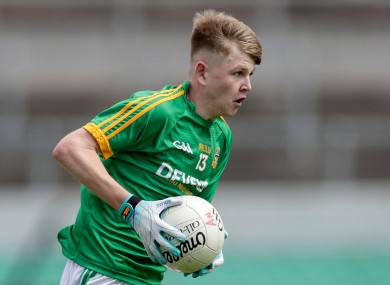 David Bell played a big part in Meath's win.