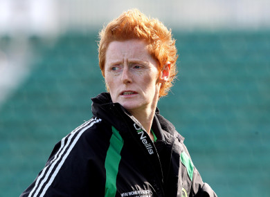 Eileen Gleeson coached Peamount to the treble in 2010 and also oversaw their run to the last 32 of the Champions League.