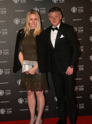 The United boss at the club's end of season awards on Thursday night.